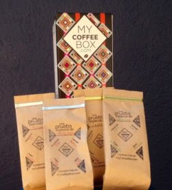 4 muestras my coffee box de cafe organico chiapaneco