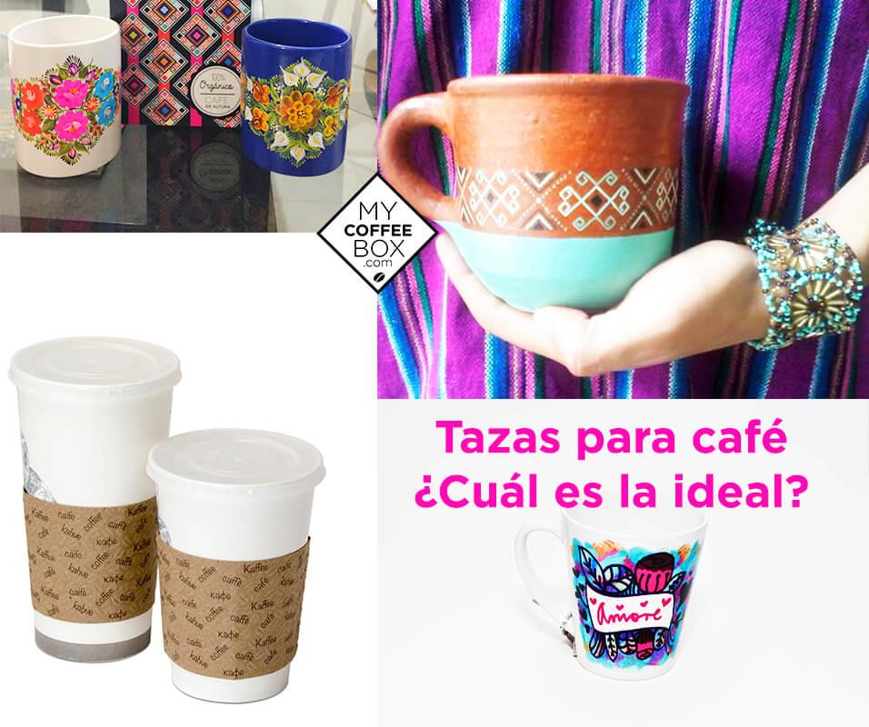 Tazas para caf cu l es la ideal para tu caf mycoffeebox for Tazas para cafe espresso