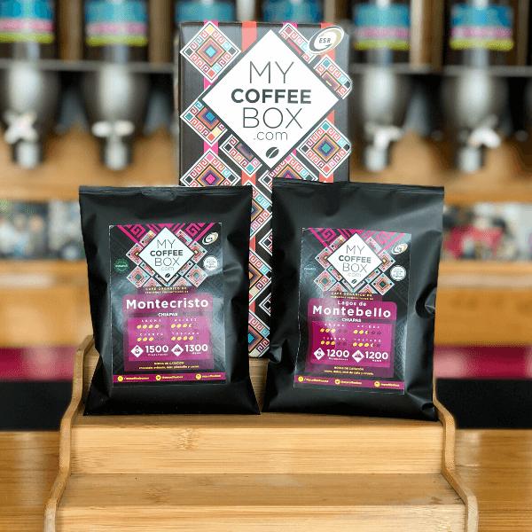 cafe de chiapas en suscripcion 2 bolsas de 100 gramos