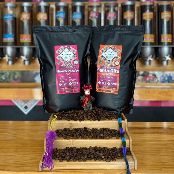 cafe de chiapas 2 bolsas de un kilo mycoffeebox