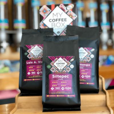 caja suscripcion mexico con cafe organico