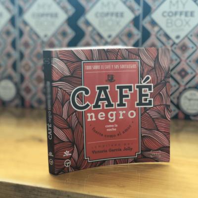libro cafe negro victoria garcia jolly algarabia mycoffeebox