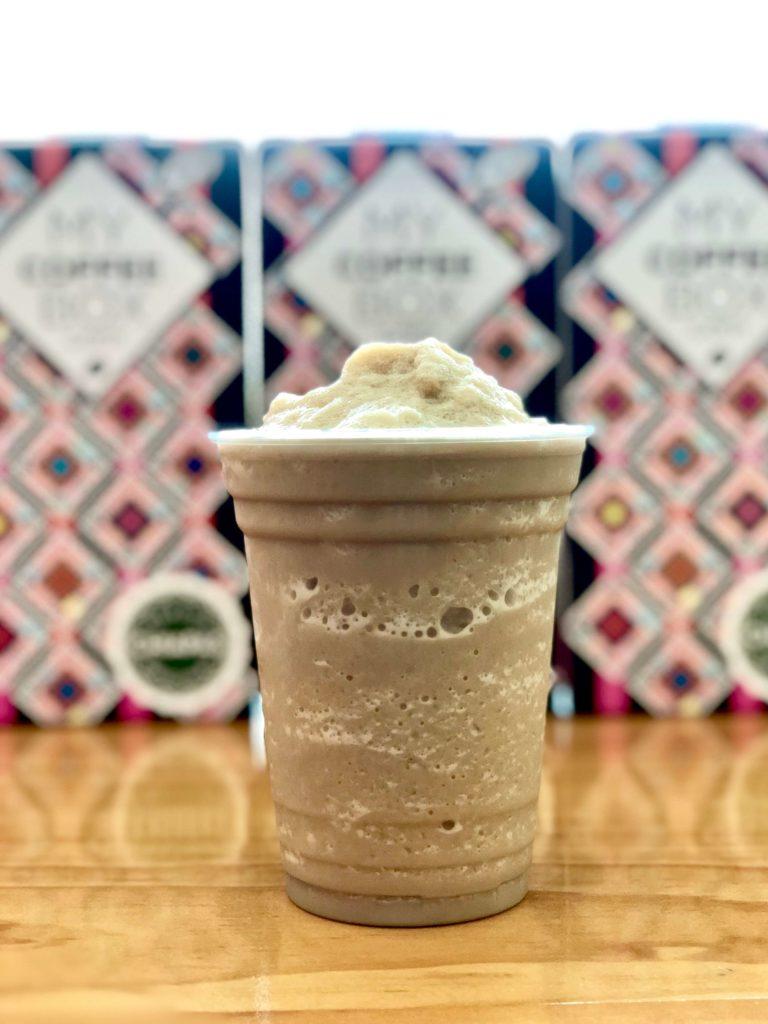 frappe cafe frio bebida en expendio mycoffeebox tuxtla