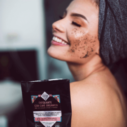 exfoliante con cafe organico y toronja celulitis cara cuerpo