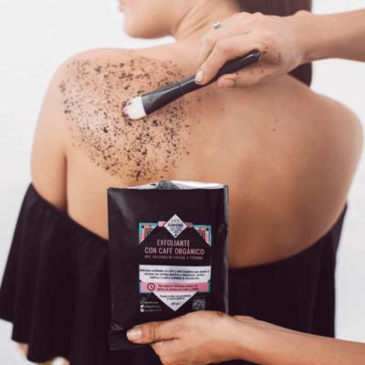 exfoliante con cafe organico y toronja celulitis espalda cuerpo