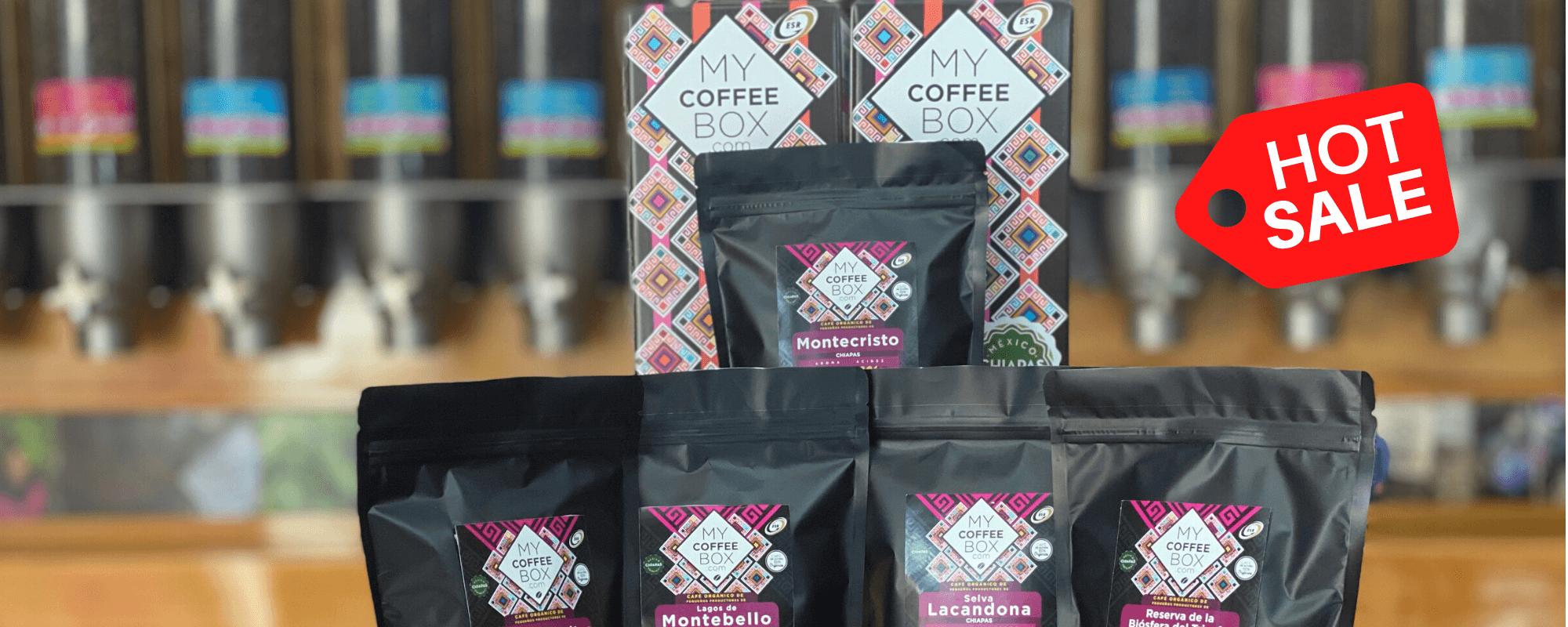 descuento promocion codigo promocional mycoffeebox cafe de chiapas